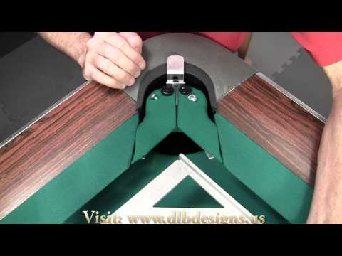 How to Install Carom Pocket Inserts