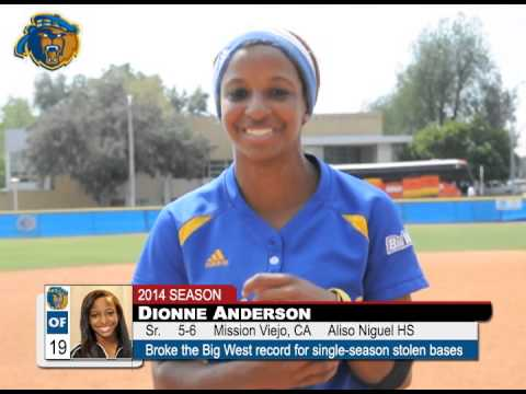 2014 UCR Softball Anderson Reflects On Breaking Big West Record