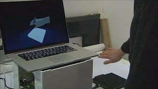 تقنية جديدة للتحكم في الأشياء بأزرار افتراضية