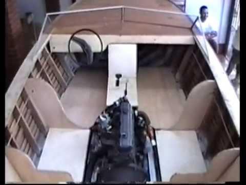 Construção Barco Madeira / Fibra - Parte 02