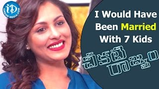 By Now I Would Have Been Married With 7 Kids - Madhu Shalini || Talking Movies With iDream - IDREAMMOVIES