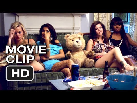 Ted Movie CLIP #4 - Lady Friends - Mark Wahlberg, Mila Kunis, Seth MacFarlane Movie HD