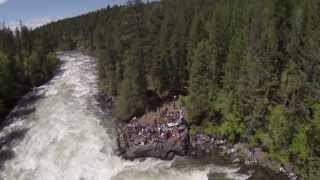 2013 Bigfork Whitewater Festival with the Multirotor