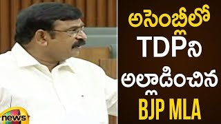 Vishnu Kumar Raju Fires On TDP In Assembly | AP Assembly Budget Session 2019 | AP News | Mango News - MANGONEWS