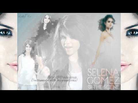 Selena Gomez - My Dilemma (Instrumental + background voice)
