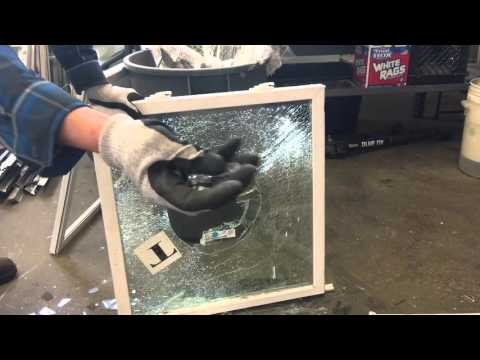 Tempered glass laminate glass regular glass Vinyl Replacement windows connecticut