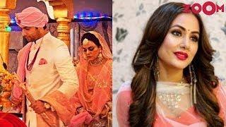 Sharad Malhotra & Ripci Bhatia's grand wedding | Hina Khan injured on sets of Kasautii Zindagii Kay - ZOOMDEKHO