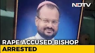 Bishop Accused Of Raping Kerala Nun Arrested After 3rd Day Of Questioning - NDTV