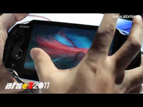 E3 2011 Gameplay: Ridge Racer + PS Vita
