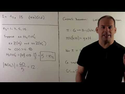 GT20.2 Sylow Theory for Simple 60