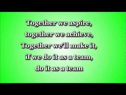 Together We Aspire (TEAMWORK) - Lyrics and Full Song