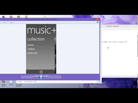 Create Playlist in Windows Phone 8  Nokia Lumia