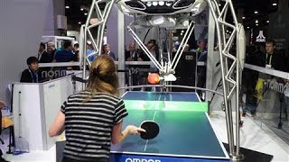 Ping Pong Robot Teases CES Crowds - WSJDIGITALNETWORK