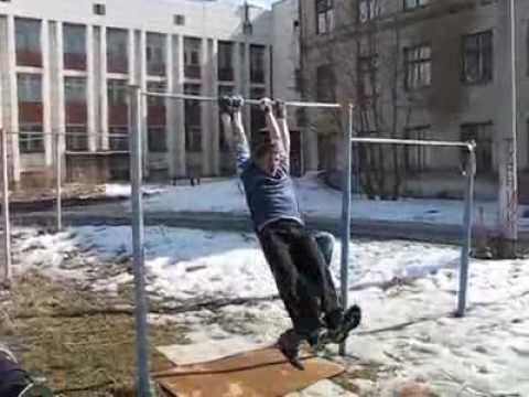 horizontal bar double fail - EPIC!