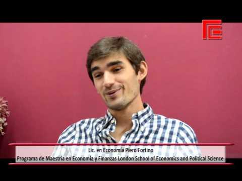 Piero Fortino, egresado de la UNT en Economía
