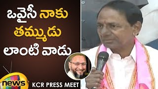 KCR Relation with Asaduddin Owaisi | TRS will Play a Crucial Role in National Politics Says KCR - MANGONEWS