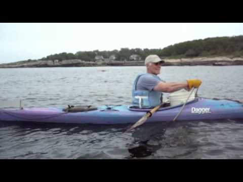Kayak lobstering in New England