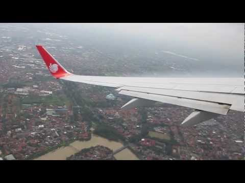 Lion Air B737-900ER Departure from Jakarta to Denpasar