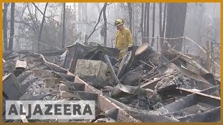 🇺🇸🔥North California fire: Death toll at 77, more than 1,000 missing | Al Jazeera English - ALJAZEERAENGLISH