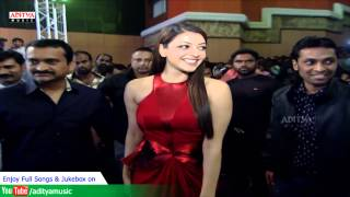 Kajal Agarwal Entry At Temper Audio Launch -  Jr.Ntr, Kajal Agarwal - ADITYAMUSIC