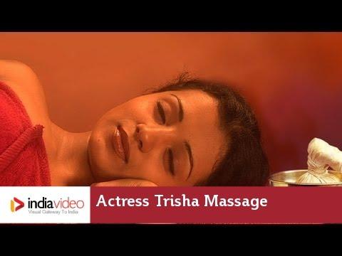 Trisha Hot Massage Video