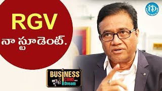 RVG Is My Student - PV Rao || Business Icons With iDream - IDREAMMOVIES
