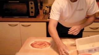 Pizza sottile tipo veneta