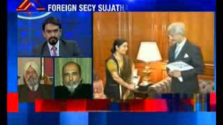Foreign secretary Sujatha Singh removed - NEWSXLIVE