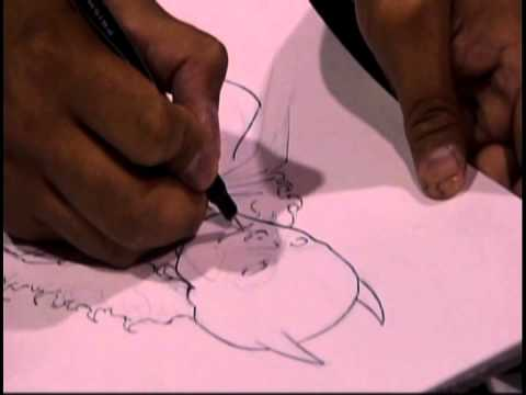 Norm Rapmund Inking Babs pt.1 (LBCC '11)