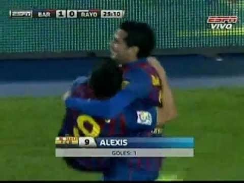 Barcelona 4 vs Rayo 0 Con un gol de Messi 