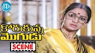 Korukunna Mogudu Movie Scenes - Shoban Babu Meets His Wife Lakshmi After A Long Time || Jayasudha - IDREAMMOVIES