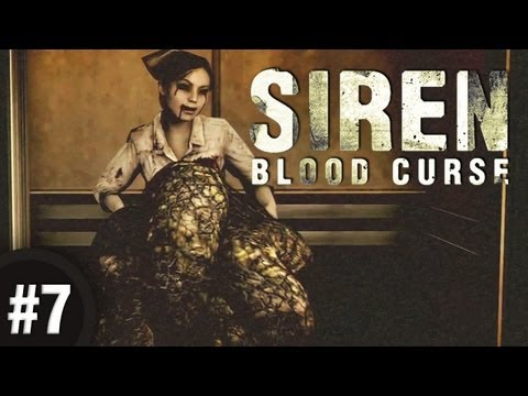OCTOPUS IN WHEELCHAIR!? - Siren: Blood Curse: Part 7