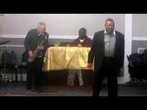 Pastor Johnson sings @ Lady Johnson's Birthday Bash!