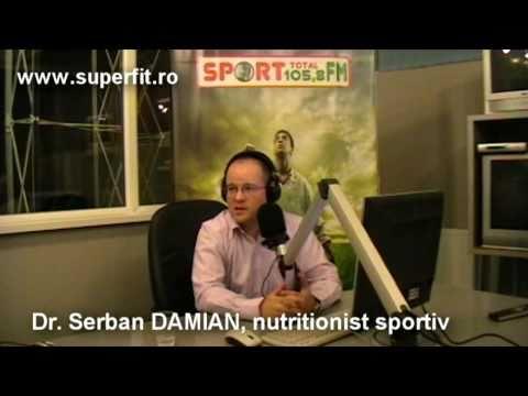 Interviu despre nutritie sportiva la Sport Total FM