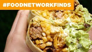Cali Taco's 3-POUND Burrito   Food Network - FOODNETWORKTV