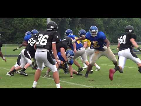 Calvert vs Chopticon 8-17-18 scrimmage