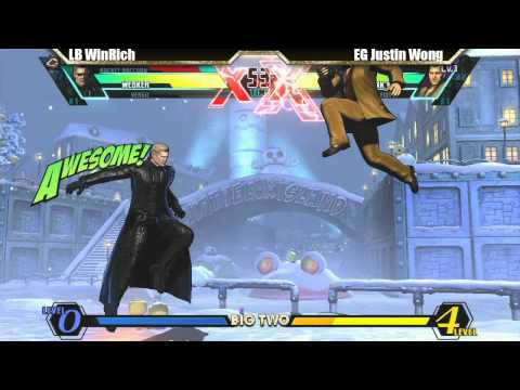 LB WinRich vs EG Justin Wong Match - Big Two UMVC3 tournament