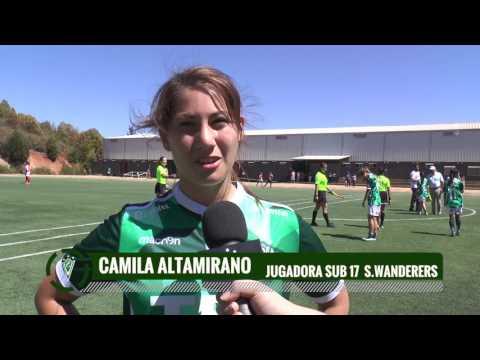 Fútbol Femenino S17: Wanderers 7-0 La Calera