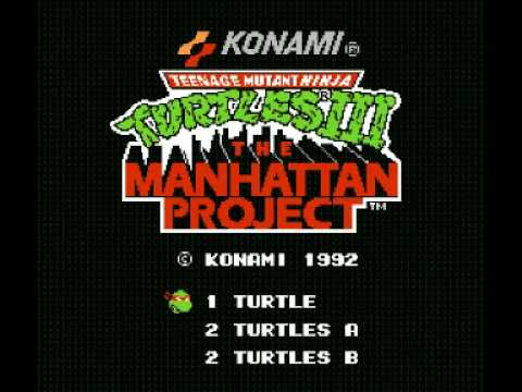 Teenage Mutant Ninja Turtles III - The Manhattan Project (NES) Music - Scene 2