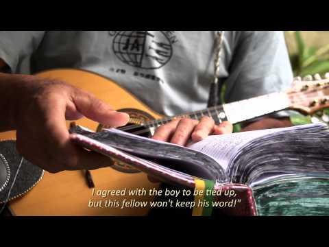 Rio Bonito - Mandolin, pen and paper/  Diadorim Ideias