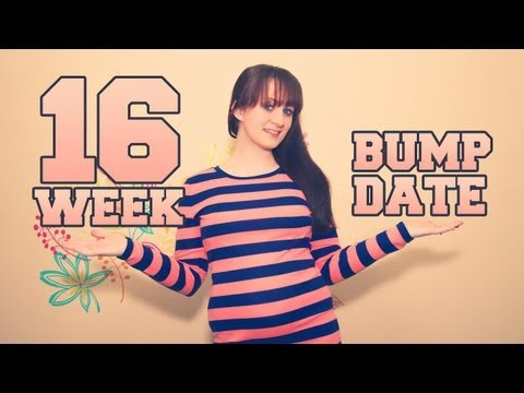 16 WEEK BUMPDATE & BELLY SHOT - HUGE UPDATE!! - Pregnant After Stillbirth - The Bumps Along the Way
