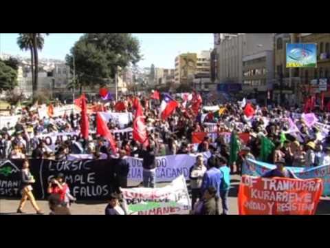 Valparaiso, Marcha por el Agua y la Vida. abril 2015