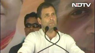 प्रधानमंत्री अब भाषणों में भ्रष्टाचार की बात नहीं करते : राहुल गांधी - NDTVINDIA