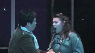 Giacomo Puccini: La Bohème Quadro Terzo - Duetto Mimi & Marcello - Sommer Oper Bamberg 2009