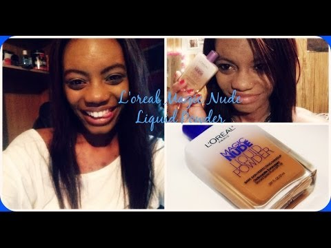 ♡First Impression & Demo: Loreal Magic Nude Liquid Powder ♡ Foundation Review