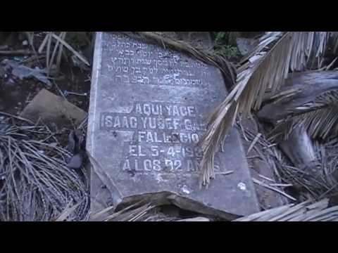 Abandono de los cementerios judíos de Larache - La négligence des cimetières juifs larache.
