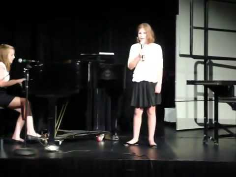 Jamie and Emma Perform A Thousand Years at ISKL MS Concert Low)
