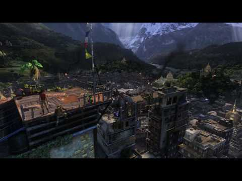 UNCHARTED 2: Among Thieves - gamescom 2009 trailer (HD)