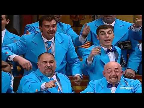 Sesión de Preliminares, la agrupación Vámonos pal Mentidero actúa hoy en la modalidad de Coros.