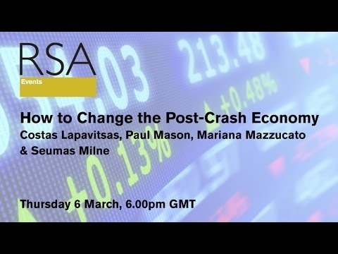 RSA Replay - How to Change the Post-Crash Economy